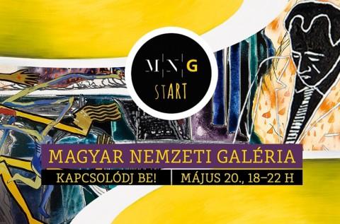 MNG stART Fesztivál a Magyar Nemzeti Galériában