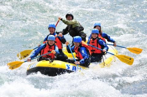 Rafting vagy kanyoning 2 fő részére Szlovéniában
