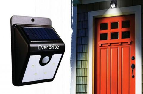 Ever Brite mozgásérzékelős napelemes LED lámpa
