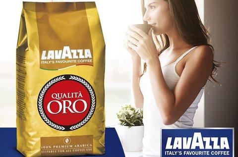 Lavazza Qualita Oro olasz szemes kávé