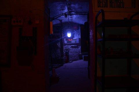 Bunker szabadulós játék 6 fő részére 60 percben