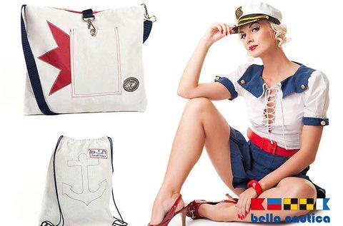 Bella Nautica női táskák strapabíró vitorlavászonból