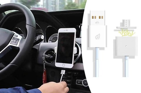 USB kábel mágneses 5-tűs csatlakozóval