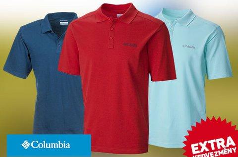 Columbia férfi galléros pólók