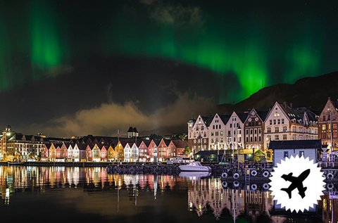 4 nap a fjordok kapujában, Norvégiában repülővel