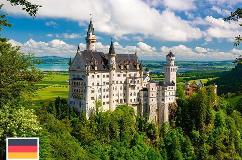 Kirándulás a Neuschwanstein kastélyhoz