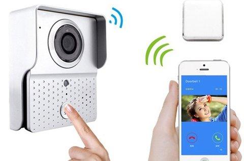 WIFI kapucsengő kamerával