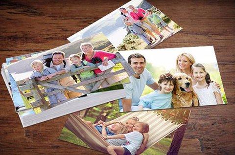 100 db fénykép előhívása matt vagy fényes papírra