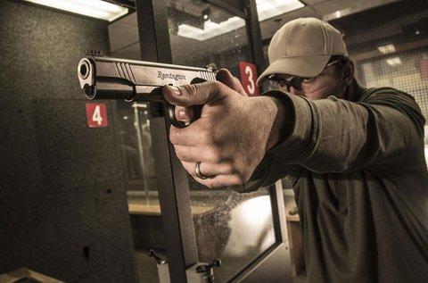 Élménylövészet 4 féle nagy kaliberű pisztollyal