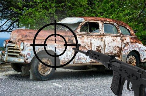 Izgalmas roncslövészet 30 lövéssel Ráckevén