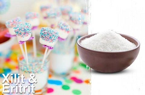 Eritrit és Xilit édesítőszerek 1 kg-os kiszerelésben