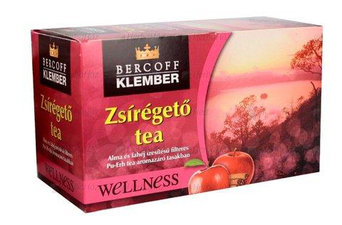 30 g-os Bercoff Klember zsírégető teák több ízben