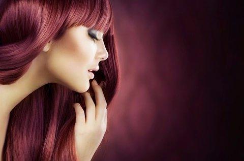 Ultrahangos keratinos hajszerkezet újjáépítés