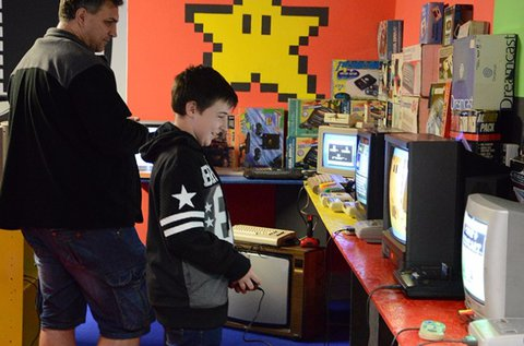 Interaktív videojáték múzeum belépő