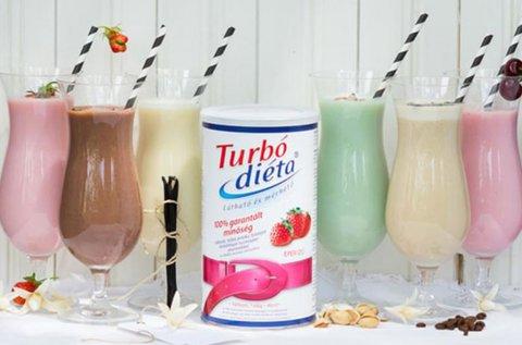 Turbó Diéta fehérje turmixpor többféle ízben