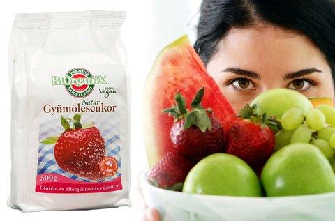 Biorganik gyümölcscukor 500 g-os kiszerelésben