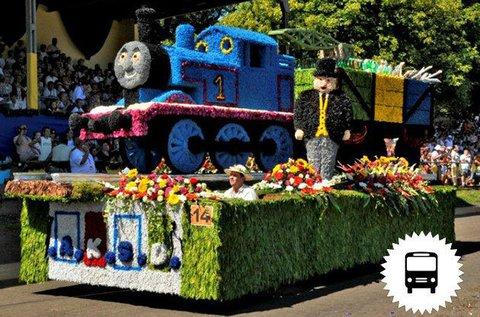 Debreceni Virágkarnevál buszos utazással 1 főnek