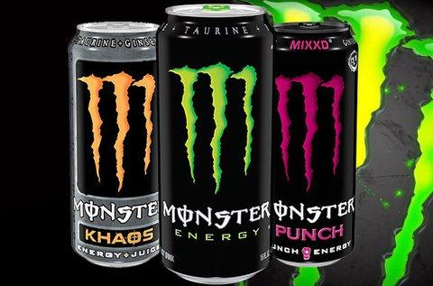 500 ml Monster energiaital 5 különböző limitált ízben