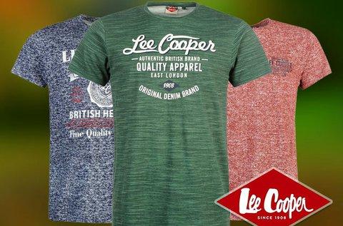 Lee Cooper férfi póló 100% pamut anyagból