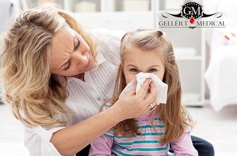 Gyakori gyermekkori allergiák szűrése vérvétellel