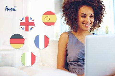 3 hónapos online nyelvtanfolyam 6 nyelven