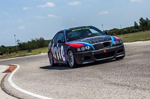 3 körös BMW M3 E46 vezetés Kiskunlacházán