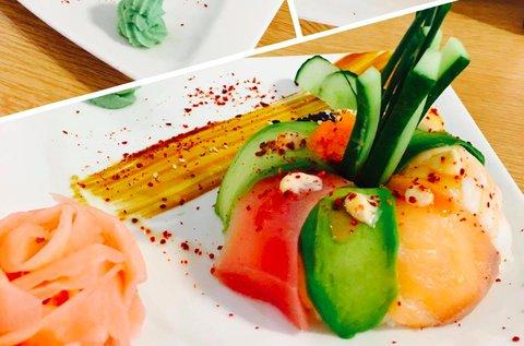 Távol-keleti ízek sushi fánk menüvel 1 fő részére