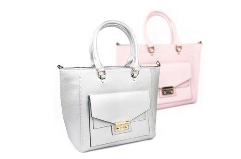 3a6f9fc7a03e Orella Paris női táska púder vagy ezüst színben 12.405 Ft helyett ...