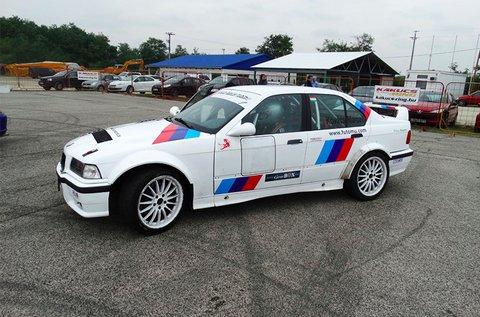 2 körös vezetés BMW E36 M3 Rally versenyautóval
