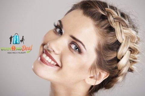 Hajvágás fejmasszázzsal és választható hajfonással
