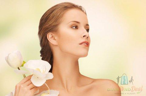 2 alkalmas HIFU arcbőr feszesítés tokán és arcélen