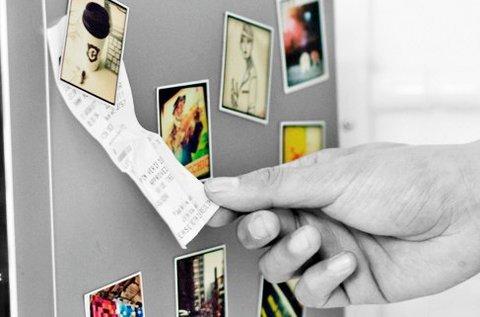 10 db bankkártya méretű hűtőmágnes saját fotókkal