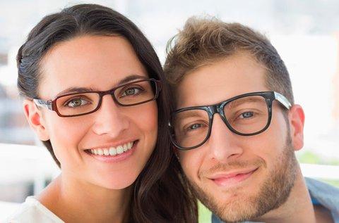 Komplett szemüveg készítés választható kerettel