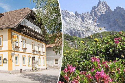 4 napos üdülés az osztrák hegyekben