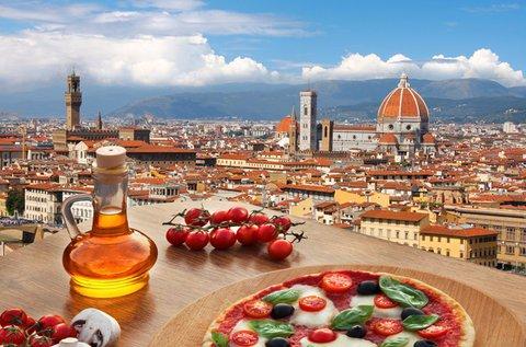 Páros romantika Firenzében repülővel