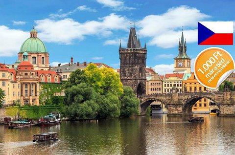3 napos lazítás Prága városában