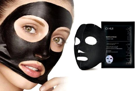10 db koreai fekete maszk a pórusok megtisztítására