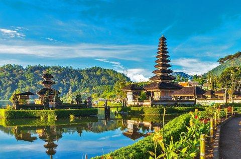 Élménydús pihenés Bali szigetén repülővel