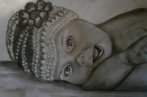 Portré rajzolás jobb agyféltekés technikával
