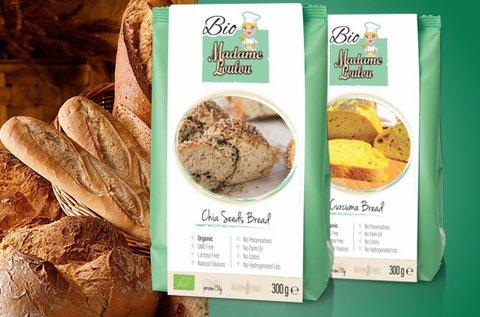 Bio kenyér gluténmentes alapkeverékek