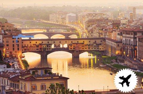 Romantikus pihenés Firenzében repülővel