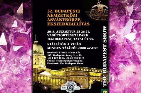 Páros belépő a Budapesti Nemzetközi Ásványbörzére
