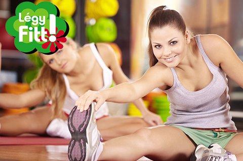Havi korlátlan fitness bérlet nőknek
