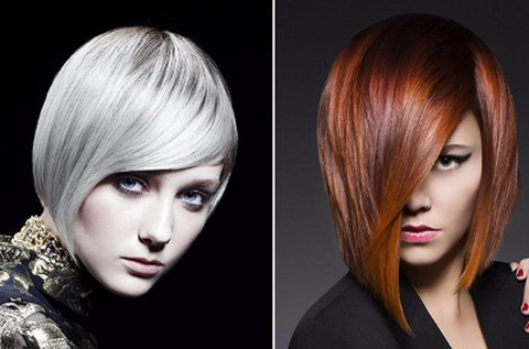 Melegollós hajvágás trendi frizurával