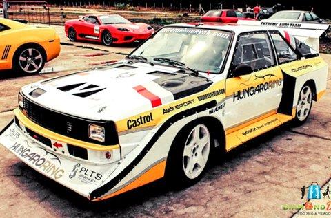 Vezess egy Audi S1 Group B autót a Hungaroringen!