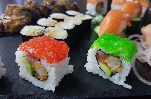 38-57 db-os sushi szettek 2-4 főre a Gozsduban