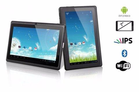 7 colos Quad Core Android táblagép