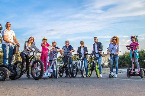 Elektromos kerékpár bérlés 1 napra 2 fő részére