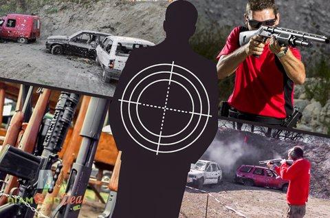 Roncslövészet dum-dum golyóval töltött shotgunnal