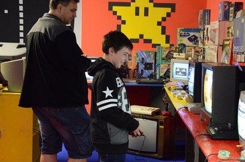 Game Over interaktív videojáték múzeum belépő